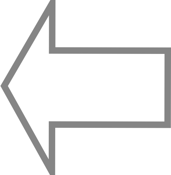 free vector Left Outline Arrow clip art