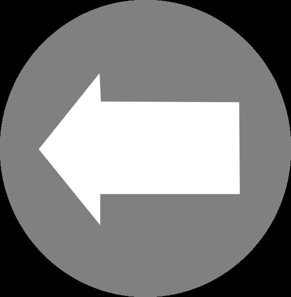free vector Left White Arrow In Circle clip art
