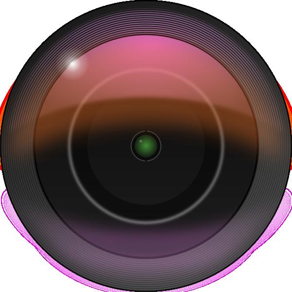 free vector Leftover Bacon Camera Lens clip art