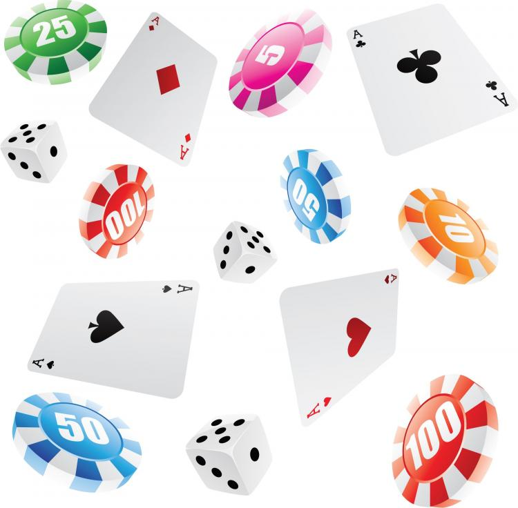 free vector Leisure and gaming gambling vector
