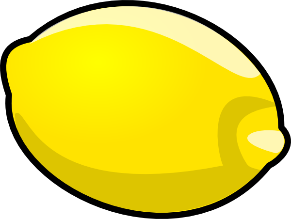 free vector Lemon clip art