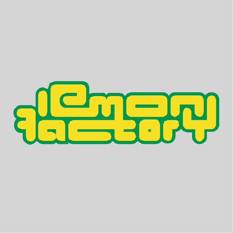 free vector Lemon factory
