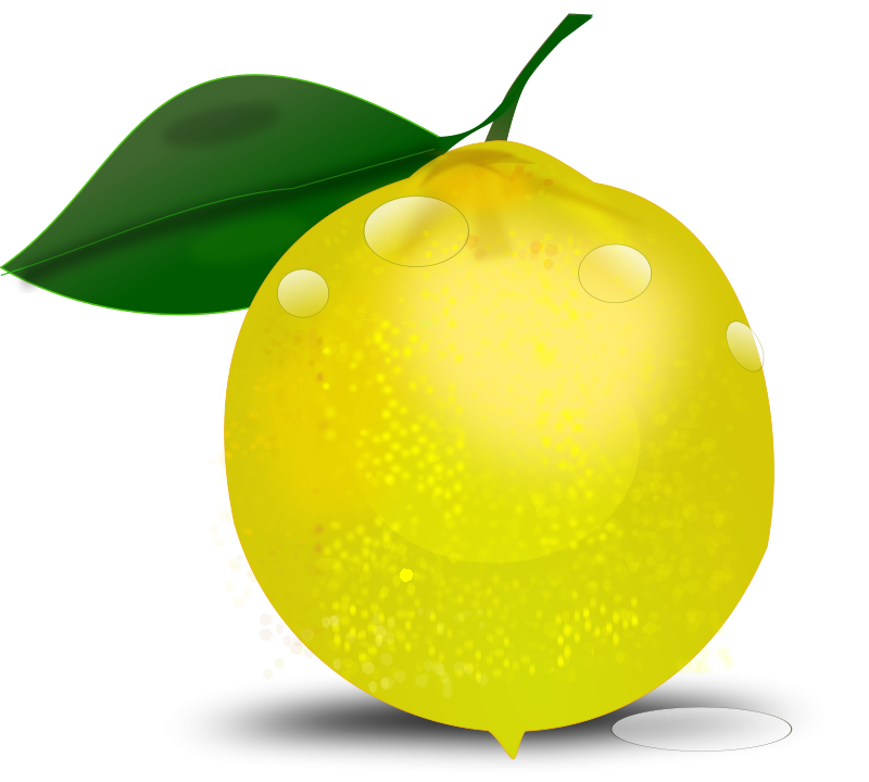 lemon photorealistic free vector   4vector orange juice logos quiz Apple Juice Logo