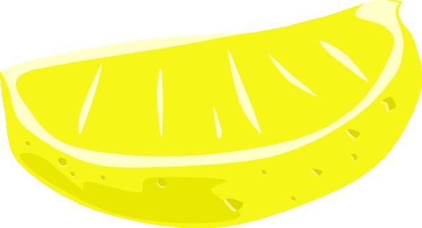 free vector Lemon Wedge clip art