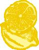 free vector Lemons clip art