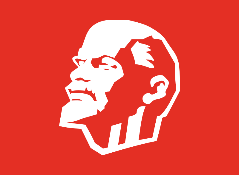 free vector Leninist flag by Rones