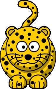 free vector Leopard clip art 118389