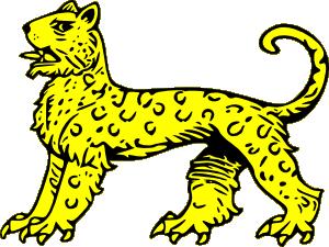 free vector Leopard clip art
