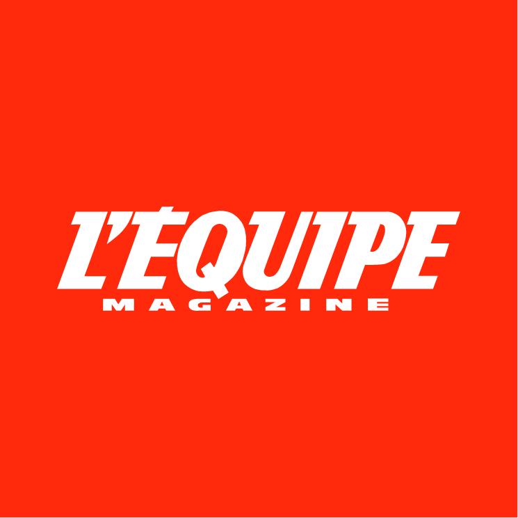 free vector Lequipe magazine