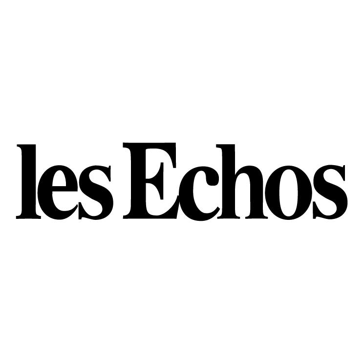 free vector Les echos 0