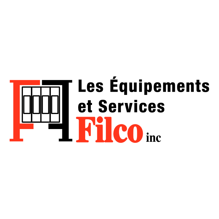 free vector Les equipements et services filco