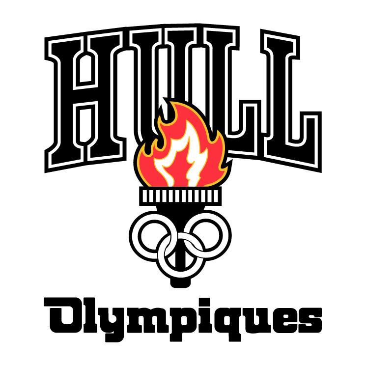 free vector Les olympiques de hull