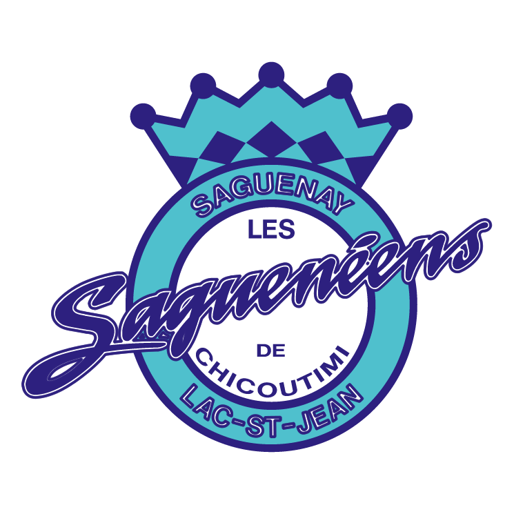 free vector Les sagueneens de chicoutimi