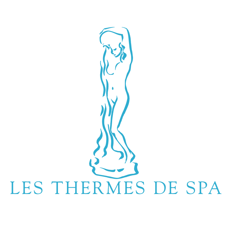Les thermes de spa free vector 4vector for Thermes de spa