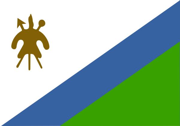 free vector Lesotho clip art