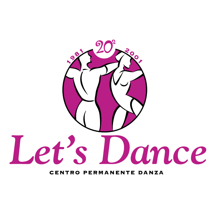 free vector Lets dance