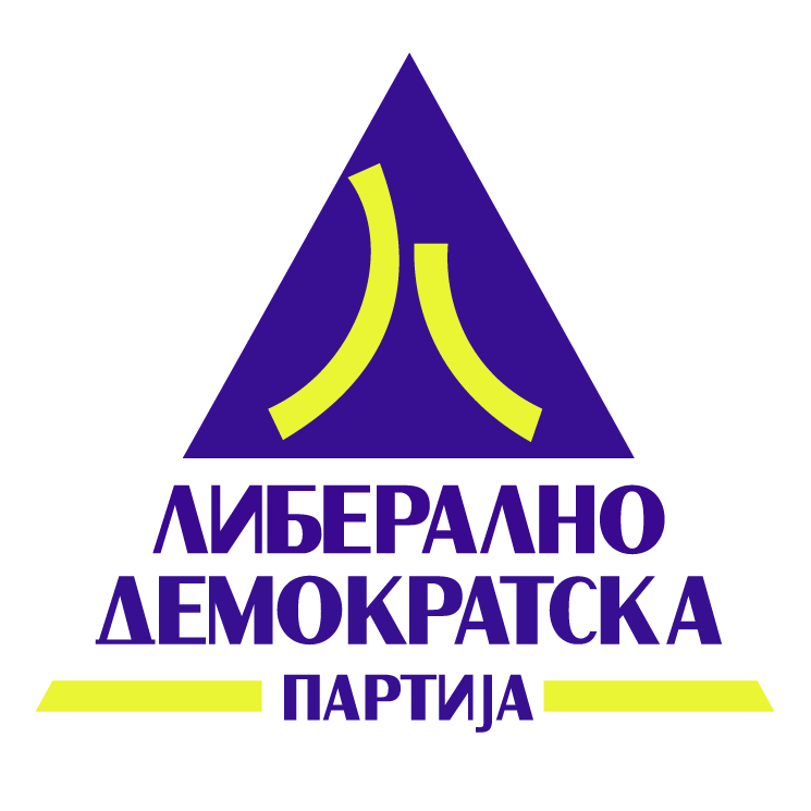 free vector Liberalno demokratska partija