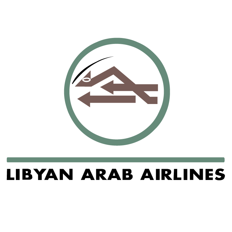 free vector Libyan arab airlines
