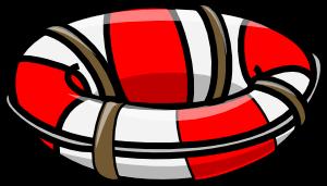 free vector Life Saving Float clip art