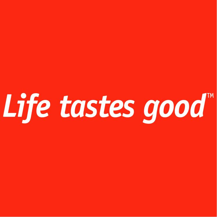 free vector Life tastes good