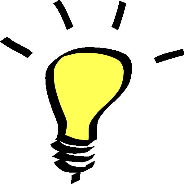 light bulb clip art free vector 4vector rh 4vector com free clipart light bulb outline free clipart light bulb outline