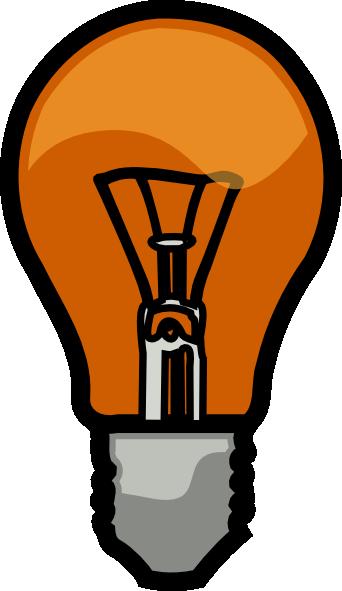 Light Bulb clip art (113532) Free SVG Download / 4 Vector