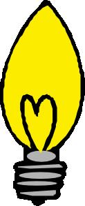 free vector Light Bulb Pointed clip art