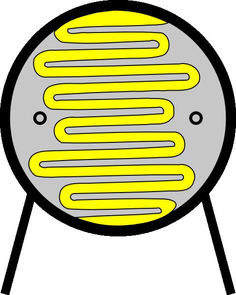 free vector Light Dependant Resistor Ldr clip art