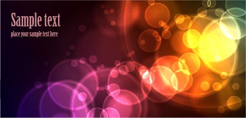 free vector Light Effect Vector Backgrounds