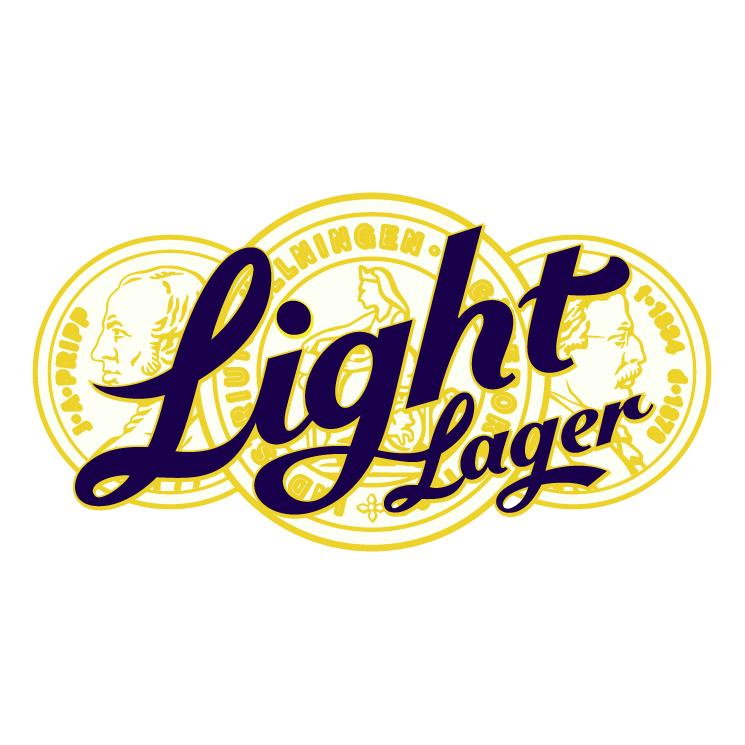 free vector Light lager