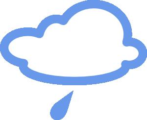 free vector Light Rain Weather Symbols clip art