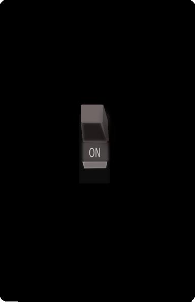 free vector Light Switch On clip art