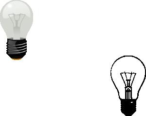 free vector Lightbulb clip art