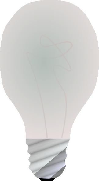 free vector Lightbulb, Off clip art