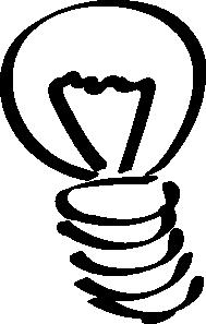 free vector Lightbulb Sketch clip art