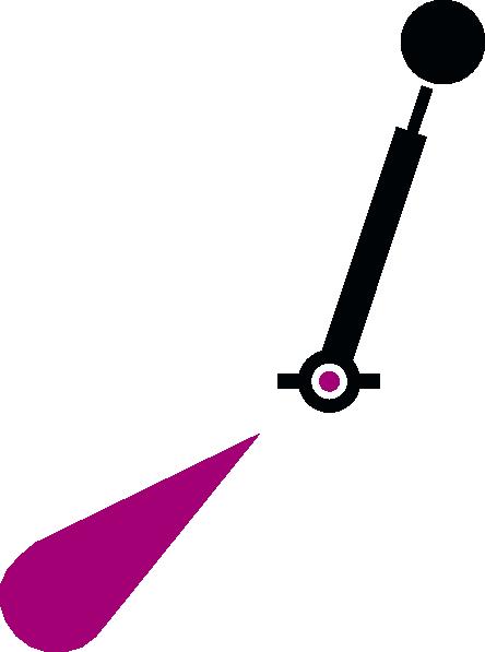 free vector Lighted Spar Buoy clip art