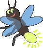 free vector Lighting Bug clip art