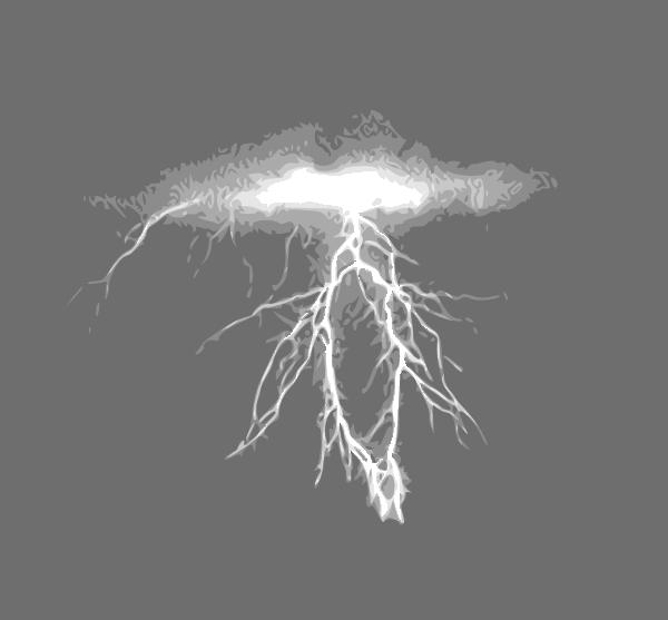 Lightning Clip Art Free Vector / 4Vector