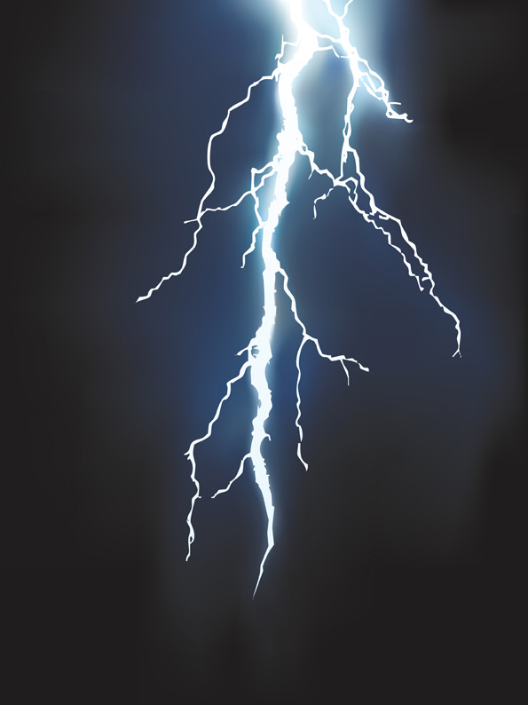 free vector Lightning vector