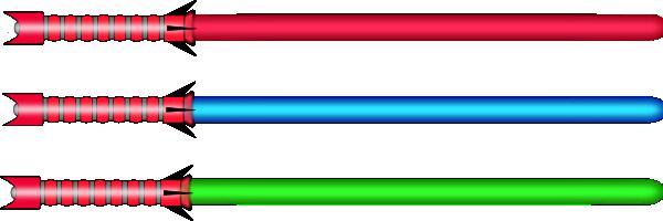 free vector Lightsaber  clip art