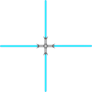 free vector Lightsaber Quad clip art