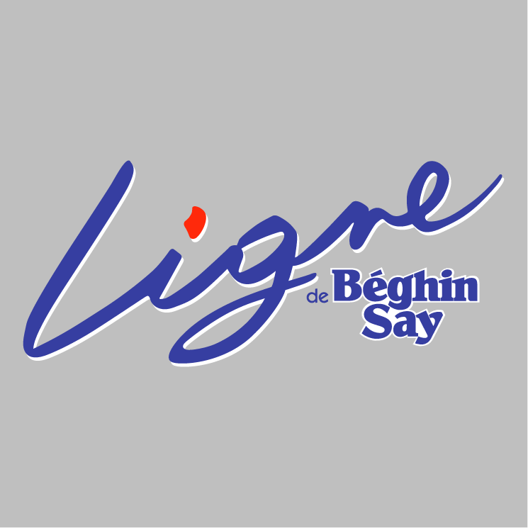 free vector Ligne de beghin say