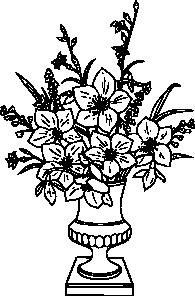 free vector Lily Bouquet clip art