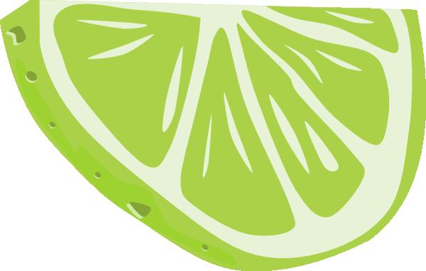 free vector Lime (half Slice) clip art