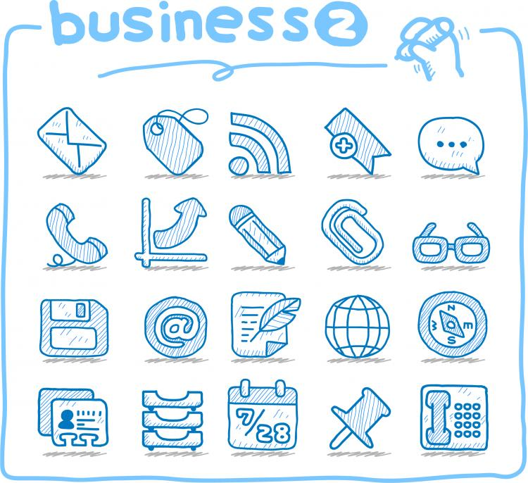 Line Art Icons Free : Line art icons vector free