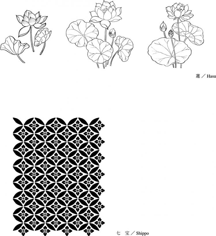 free vector Line drawing of flowers -21