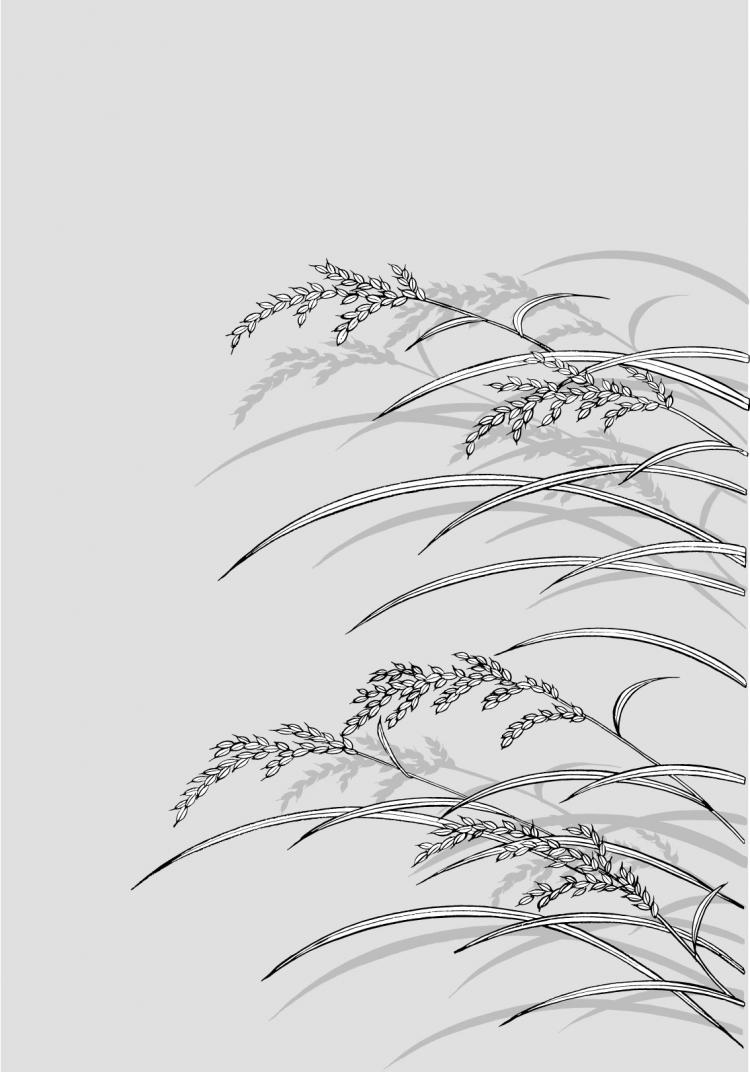 free vector Line drawing of flowers -23