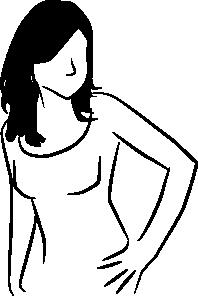 free vector Line Woman clip art