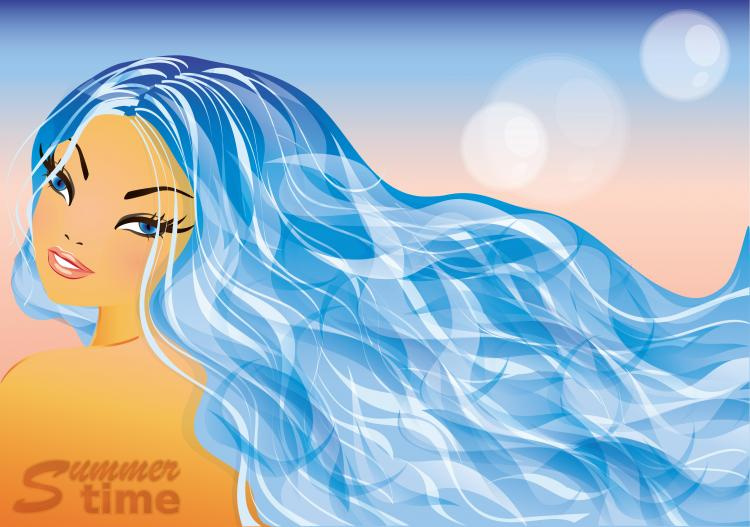 free vector Lines of beauty 04 vector
