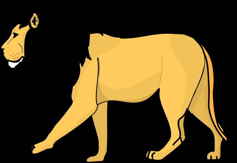 free vector Lion 2